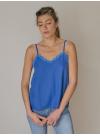 Top Léo bleu