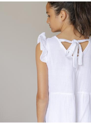Robe Gisèle blanche