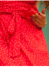 Robe Lafayette pois rouge